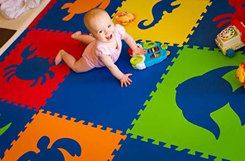 Softtiles Kids Foam Playmat Sea Animals Interlocking