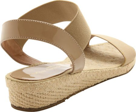 Andre Assous Mujeres Dera Sandal Taupe Elastic