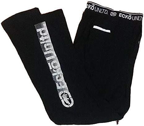 40/% Polyester Ecko Unlimited Men/'s Cotton Fleece Jogger 60/% Cotton Moisture Wicking Pajama Pant