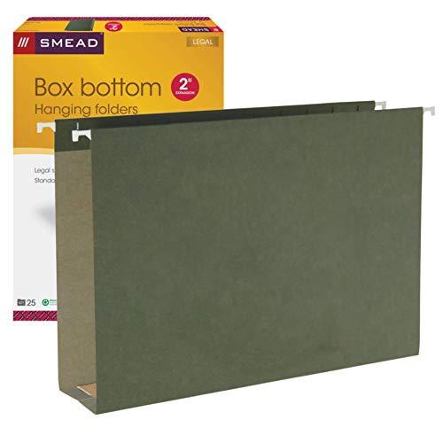 Smead Box Bottom Hanging Folders, 2