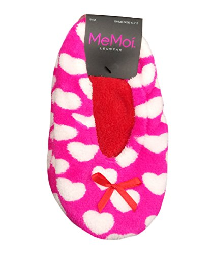 Memoi Heartfelt Sherpa Foderato Pantofole Da Donna L Teen Pantofole Aqua