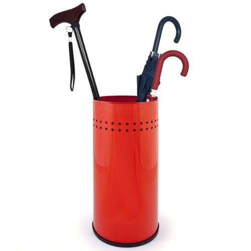 bremermann® Schirmständer, Regenschirmständer, Schirmhalter, rot