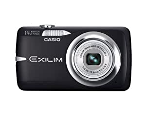 Casio EX-Z550 14.1MP Digital Camera with 4x Wide Angle Zoom with CCD Shift Image Stabilization and 2.7 inch LCD (Black)