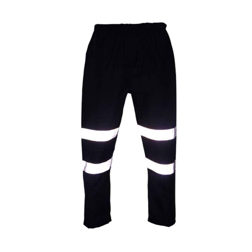 Meijunter Haute Visibilit/é R/éfl/échissant Bande Pluie Un Pantalon Moto Imperm/éable S/ûr Travail Pantalon
