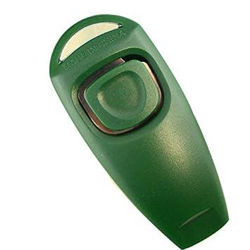 Xmowes ultrasónico de múltiples funciones ladridos de perro de parada y la formación de lanzadera (Green): Amazon.es: Deportes y aire libre