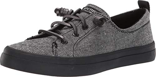 Sperry Womens Crest Vibe Fashion Shoes Mettalic Black ()