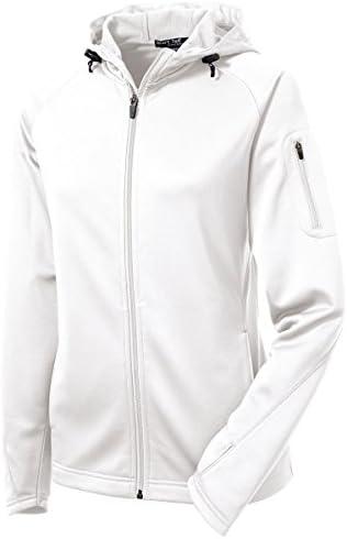 Sport Tek; Ladies Tech Fleece Full Zip Hooded Jacket. L248-simple / Sport Tek; Ladies Tech Fleece Full Zip Hooded Jacket. L248-simple