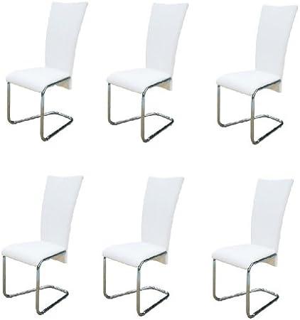 6x Sedie da Tavolo Moderno Sedia Elegante Ergonomico