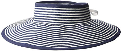 (Columbia Women's Global Adventure Packable Visor, White/Nocturnal One)