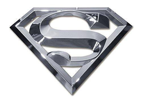 Superman Chrome Auto Emblem