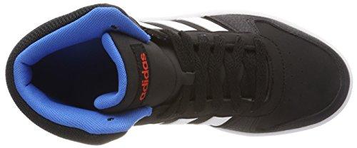 Ftwbla Kinder 000 Mid 0 Unisex Fitnessschuhe Azubri Schwarz adidas 2 Hoops Negbás TR5zwqP