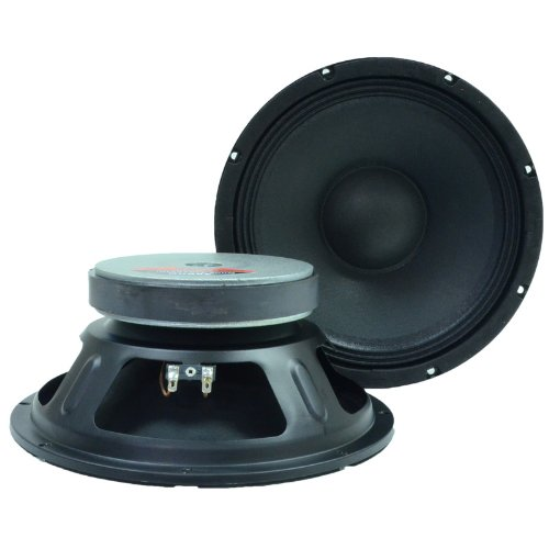Seismic Audio Q 10 Pair 2 of 10-Inch Raw Woofers/Speakers Pro Audio /PA/DJ Replacement Speakers by Seismic Audio