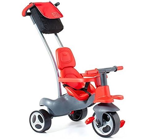 Moltó-Urban Trike Easy Control Triciclo, Color Rojo, Miscelanea ...
