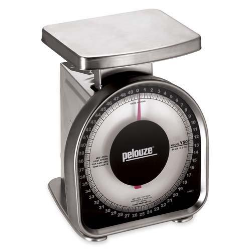 o Pelouze Manufacturing Company o - Monarch Scale, 50 lb. By 2 oz., 6-1/2''x6-1/2''x8-1/2''