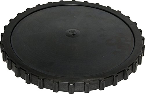 EBDM Rubber Membrane Pond Air Diffuser Disc - Replacement for Pond Aerator Air Stone (12 inch)