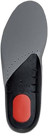 Saluber Multi-Sport-Einlegesohlen, dünn und leicht, luxuriöses Alcantara Suade, wasserabweisend, antibakteriell, entworfen und hergestellt in Italien UK 9.5 | EU 44