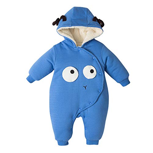 residentD New Baby Cartoon Romper Baby Winter