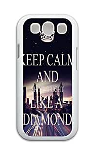 Mldierom fashion picture hard shell white case for Galaxy S3 infinity forever a