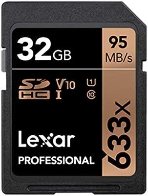 Lexar 633 x 64 GB 256 GB Tarjeta SD 32 GB 128 GB Tarjeta ...