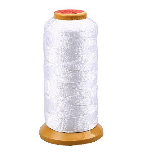 - Silk Beading Thread String, WCIC 1093.61 Yard. Nylon Cord Spool Chinese Knot Thread String White