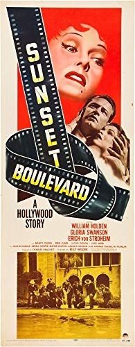 - Posterazzi Sunset Boulevard from Left: Gloria Swanson William Holden Nancy Olson 1950 Movie Masterprint Poster Print (24 x 36) (Renewed)