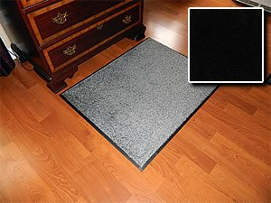 Commercial Grade Walk-Off Mats - Carpet Mat Pro - 04' x 12' - Black - Non Skid Indoor Runner Matting by Carpet Mat Pro