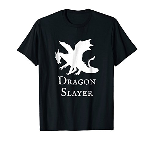 Dragon Slayer T-Shirt Fantasy Medieval Anime ()