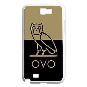 Samsung Galaxy N2 7100 Cell Phone Case White Drake Ovo Owl SJ9462101