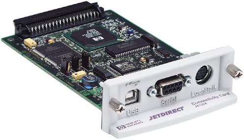 B00004Z885 HP Hewlett Packard Jetdirect Eio Connectivity Card USB Ser Localtalk 41GF1XJ22EL.