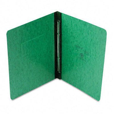 Oxford : Pressboard Report Cover, Prong Clip, Letter, 3'' Capacity, Dark Green -:- Sold as 2 Packs of - 1 - / - Total of 2 Each