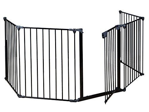 Safety Gate Fence For Pet Dog Cat and Baby 41GF1u6S0AL