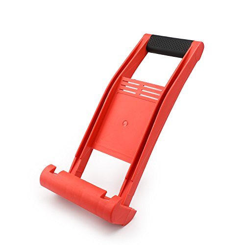 Drywall Carrier, EnPoint ABS Plastic Plywood Panel Carrier 80KG Load Lift and Carry Panel Mover for Lifting up Glass Board Plasterboard Wood ()