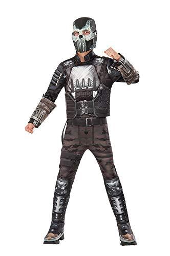 Rubie's Costume Captain America: Civil War Crossbones Deluxe Muscle Chest Child Costume, Small -