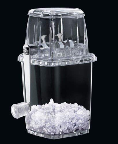 Great for Cocktails Transparent Manual Plastic Ice Crusher by MisterChef/® Slush for the kids