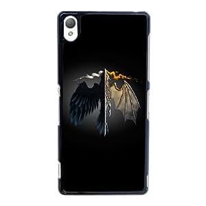 Dragón y fuego Arte HF31VC5 funda Sony Xperia Z3 teléfono celular caso funda G9EU1L2OU