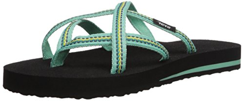 Teva Womens W Olowahu Flip-Flop, Lindi sea Glass, 9 M US