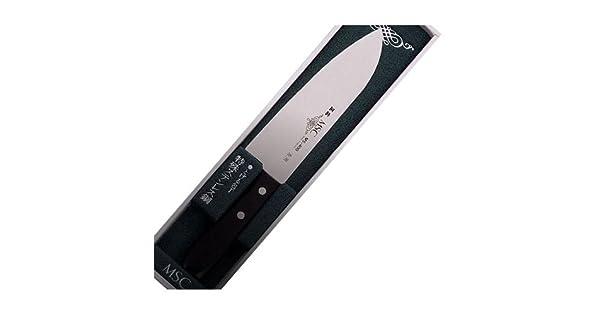 Amazon.com: Masahiro Cuchillos MS-400 Acero Inoxidable ...