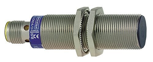 Schneider Electric XS518B1CAM12 Detector Inductivo de Metales XS5, Cilíndrico M18, 5 mm Rango Nominal