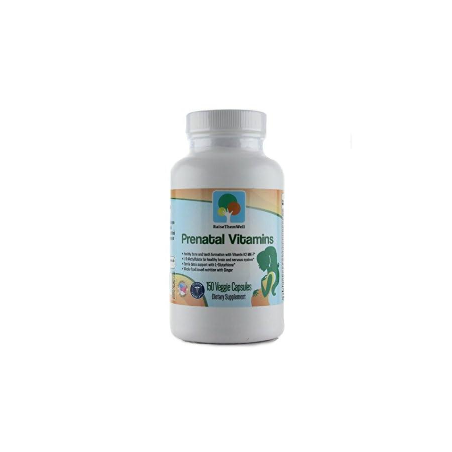 Physician Developed Prenatal & Breastfeeding Multivitamin. Formulated for Optimal Maternal and Fetal Health. Only Prenatal that has Vitamin K2 MK 7, Methylfolate, Methylcobalamin, and Glutathione.