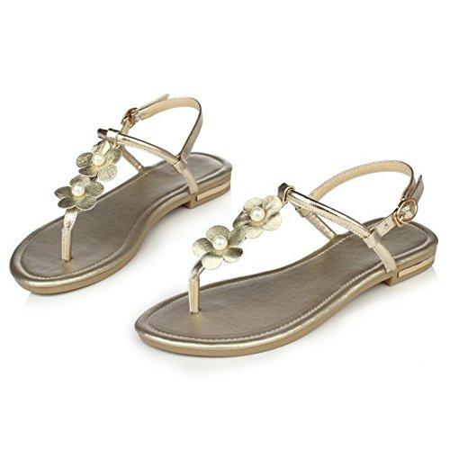 Coolcept - Zapatos de tacón  mujer Oro