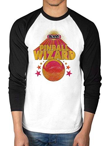 Offizielles The Who Pinball Wizard Lange Ärmel Baseball T-Shirt Album Endless Draht