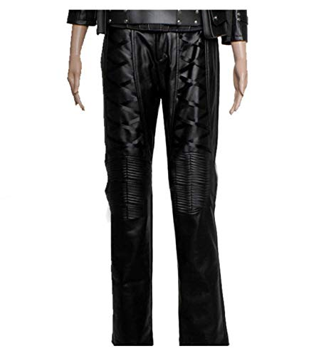 (III-Fashions Sara Lance Arrow Black Canary Caity Lotz Costume Biker Quilted Leather)