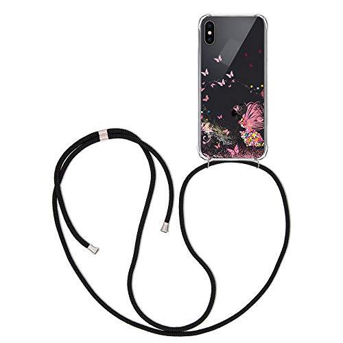 ff-mobile Handykette kompatibel mit Huawei Mate 20 Lite – Smartphone Necklace Hülle mit Band – Schnur mit Case zum…