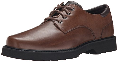 Rockport Men's Northfield Oxford-Dark Brown-10.5  N (Narrow Shoes Width)