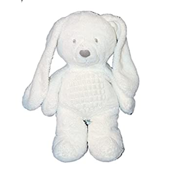 Doudou de peluche conejo blanco - Tex Baby Carrefour CMI Nicotoy - 35 cm: Amazon.es: Bebé
