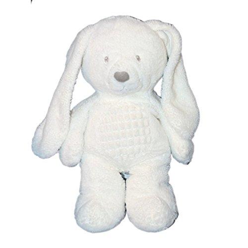 Doudou de peluche conejo blanco - Tex Baby Carrefour CMI Nicotoy ...