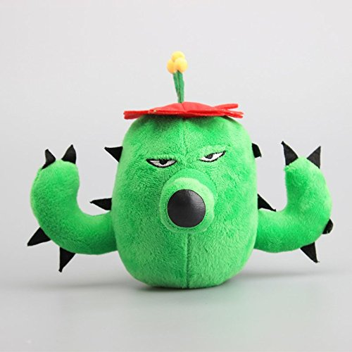 Cactus Fog 7 Inch Toddler Stuffed Plush Kids Toys PVZ (Plants Zombies Vs Ds)