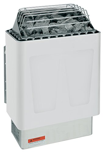 Harvia KIP 8KW, 240-1PH Electric Sauna Heater with Xenio Control (Includes Sauna Stones)