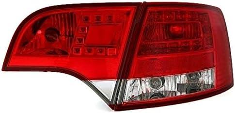 Eagle Eyes Led Rückleuchten Set In Klarglas Rot Weiß Auto