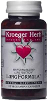 Amazon com: Lung Formula (Sound Breath), 100 Cap by Kroeger
